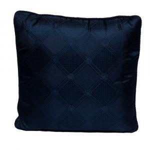 Versace Medusa Navy Blue Cotton Cushion