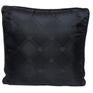 Versace Medusa Black Cotton Cushion