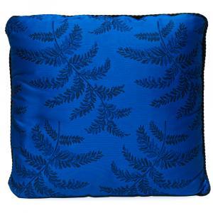 Versace Medusa Blue Cotton Cushion 45 CM