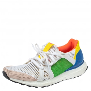 Adidas by Stella Mccartney Multicolor Fabric Low Top Sneakers Size 38.5 - used
