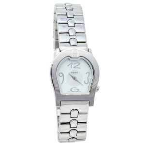 Aigner Silver Stainless Steel Ravenna A01200 Women's Wristwatch 24 mm