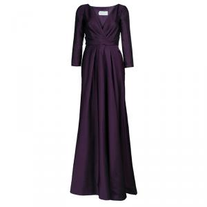 Alberta Ferretti Limited Edition Purple Silk Gown S used