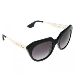 Alexander McQueen Black MCQ 0017/S Cat Eye Sunglasses
