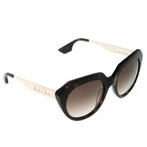 Alexander MCQueen Dark Brown Tortoise MCQ 0017/S Cat Eye Sunglasses