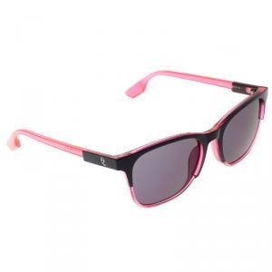 Alexander McQueen Tranparent Pink/Purple MCQ 0047/S Wayfarer Sunglasses