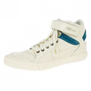 Alexander McQueen for Puma Winter White Street Climb III Sneakers Size 42