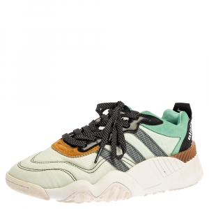 Alexander Wang Multicolor Mesh, Suede and Leather x Adidas Turnout Trainer Size (US 8/UK 7.5/FR 41/ EU 38.5).