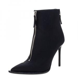 Alexander Wang Black Nylon Eri Boots Size 36.5 - used