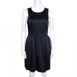 Armani Collezioni Navy Blue Sleeveless Sheath Dress S used