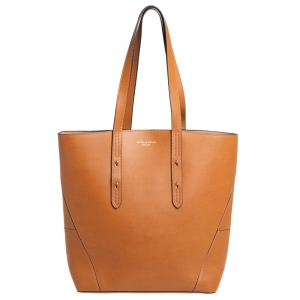 Aspinal of London Tan Leather Essential Shopper Tote