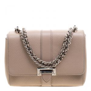 Aspinal Of London Beige Leather Small Lottie Shoulder Bag