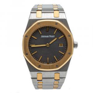 Audemars Piquet Royal Oak Grey Dial Stainless Steel & Rose Gold Watch 36 MM
