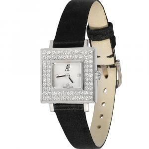 Audemars Piguet MOP Diamonds 18K White Gold 67345BC/Z/0001CR/01 Women's Wristwatch 18 MM