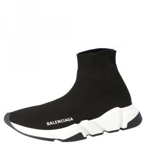 Balenciaga Black Speed Sneakers Size EU 37