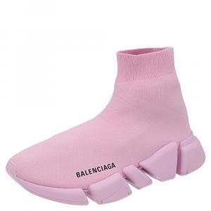 Balenciaga Pink Speed 2.0 Sneakers Size EU 35