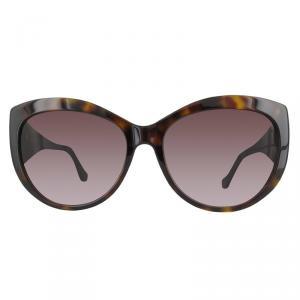 Balenciaga Dark Havana/Gradient Bordeaux BA0023 Cat Eye Sunglasses