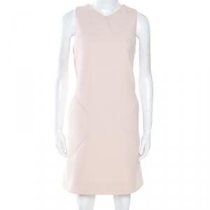 Balenciaga Pink Crepe Sleeveless Pocket Detail Dress L - used