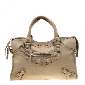 حقيبة يد بالنسياغا بروغز GCH كلاسيك سيتي جلد برالين