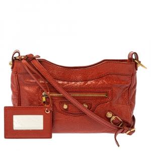 Balenciaga Mandarin Leather RSH Hip Crossbody Bag
