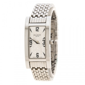 Balmain Silver Stainless Steel Miss Balmain 2191 Women's Wristwatch 18 mm