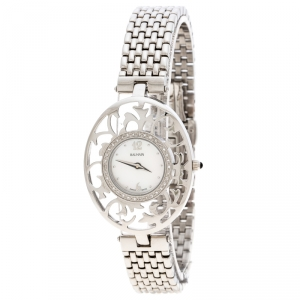 Balmain Mother of Pearl Stainless Steel 3075 Women's Wristwatch 32MM