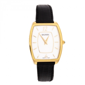 Balmain Mother Of Pearl Gold PVD Coated Stainless Steel Arcade Elegance 1730 Women's Wristwatch 30 mm