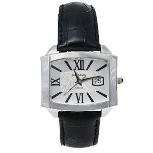 ساعة يد نسائية 2121 كوارتز ستانلس ستيل فضية 39 مم