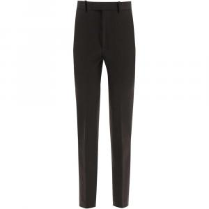 Bottega Veneta Black High Waisted Trousers Size IT 38