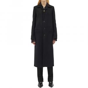 Bottega Veneta Black Wool Coat Size 44