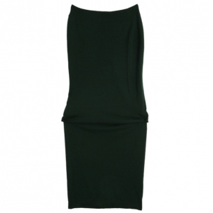 Bottega Veneta Strapless Wool Dress M