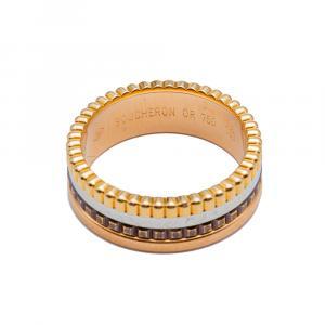 Boucheron Quatre Ring Size 53