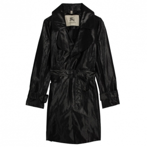 Burberry Black Tailor Trench Coat M