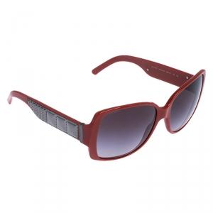 Burberry Orange Brown B4105 Square Sunglasses
