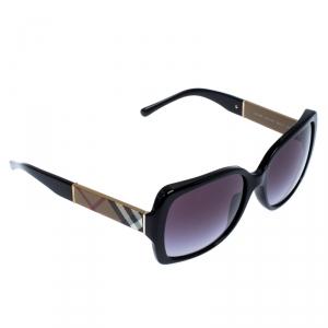 Burberry Novacheck and Black/ Grey Gradient B4160 Square Sunglasses