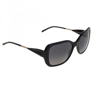Burberry Black / Grey B 4192 Polarized Square Sunglasses