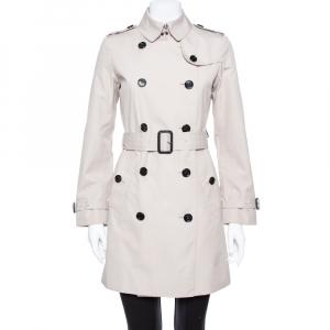 معطف بربري حزام بيج مقاس صغير (سمول)