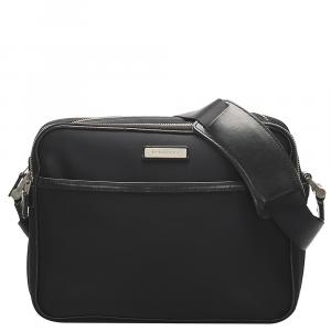 Burberry Black Nylon Crossbody Bag
