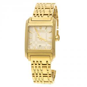 Burberry Gold Plated Steel BU1574 Women's Wristwatch 25 mm