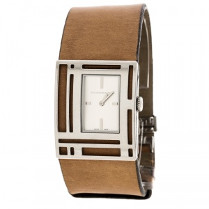 Burberry Silver White Stainless Steel BU4651 Women's Wristwatch 30 mm