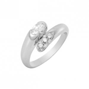 Bvlgari Diamond Gold Ring