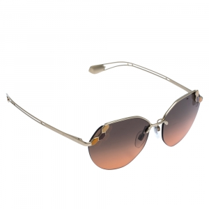 Bvlgari Pale Gold/ Bicolor Gradient 6099 Serpenti Poisoncandy Sunglasses