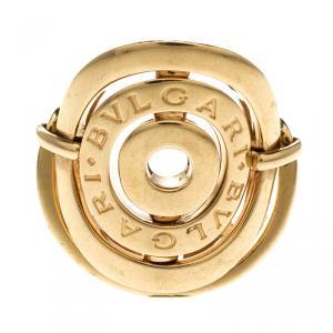 Bvlgari Cerchi 18k Yellow Gold Ring Size 57