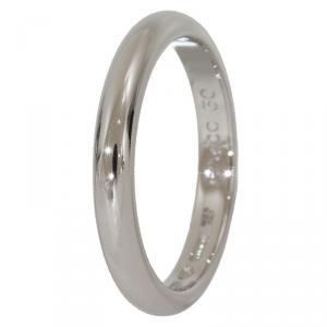 Bvlgari Fedi Platinum Wedding Band Ring Size 50
