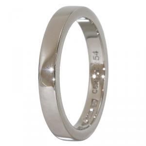 Bvlgari MarryMe Platinum Wedding Band Ring Size 54