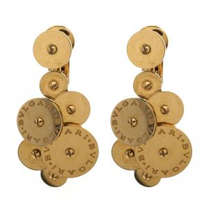 Bvlgari Cicladi 18k Yellow Gold Drop Earrings