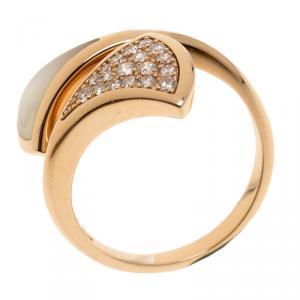 Bvlgari Divas' Dream Rose Gold and Diamonds Ring
