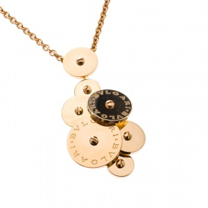 Bvlgari Cicladi 18k Yellow Gold Pendant Necklace