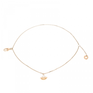 Bvlgari Diva's Dream Mother of Pearl 18k Rose Gold Bracelet