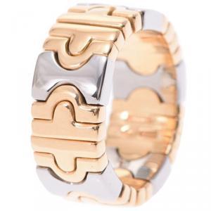 Bvlgari Parentesi 18K 2-Tone Ring Size 49