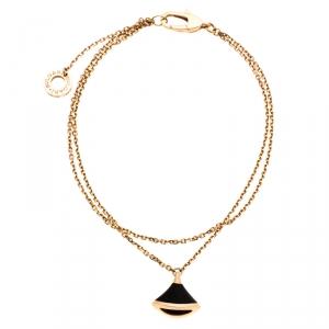 Bvlgari Divas' Dream Onyx 18k Rose Gold Bracelet